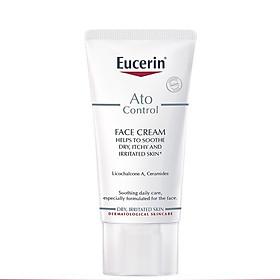 Eucerin Kem Dưỡng Giảm Ngứa, Đỏ Cho Da Mặt Ato Control Face Cream  50ml