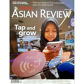 Nikkei Asian Review: Tap and Grow - 34