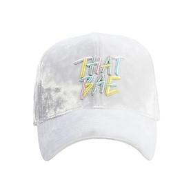 Nón Ballcap PREMI3R Hypebae Thatbae FL434 - Trắng