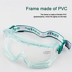 Protective Safety Glasses Safety Eyewear Anti-Fog Design Anti Scratch,Clear Lens-High Impact Resistance-Perfect Eye Protection