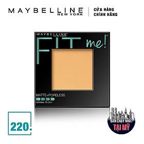 Phấn Mịn Lì Tự Nhiên Maybelline Fit Me Matte + Poreless Màu 220 Natural Beige 9g-2