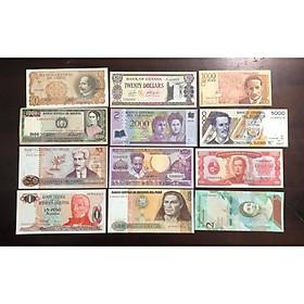 Bộ tiền cổ 12 quốc gia Nam Mỹ