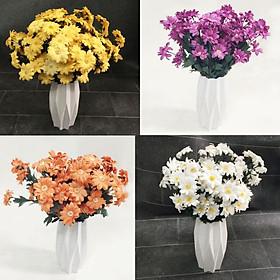 Hoa cúc hoạ mi - hoa cúc dại - hoa giả cao cấp mẫu mới ra rất đẹp