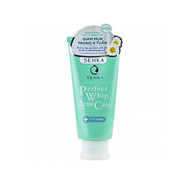 Senka Perfect Whip Acne Care - Sửa rửa mặt dành cho da mụn