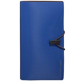 Comix A7628 30 Portable Business Card Holder / Card Album Germini Series Blue