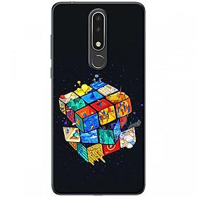 Ốp lưng dành cho Nokia 3.1 Plus Rubik