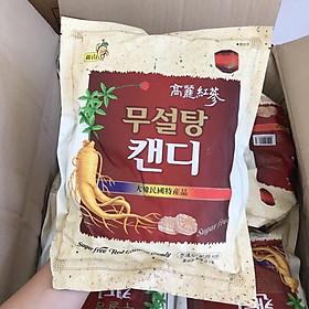 Thùng 20 gói Kẹo hồng sâm không đường cao cấp Sugar Free Red Ginseng Candy (500g x 20)  - Hàn Quốc