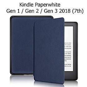 Bao Da Cover Cho Máy Đọc Sách Kindle Paperwhite Gen 1 / Gen 2 / Gen 3 2018 (7th) Nhựa Xước