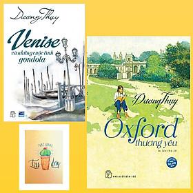 Combo Oxford Thương Yêu và Venise Và Những Cuộc Tình Gondola ( Tặng Kèm Sổ Tay Xương Rồng)