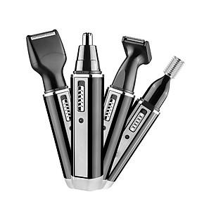 Máy cạo râu KM-6630 đa năng 4 trong 1 kiêm tông đơ cắt tóc & máy tỉa lông mũi
