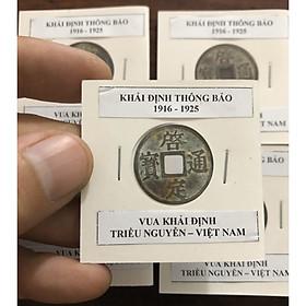 Xu nhà Nguyễn Việt Nam KHẢI ĐỊNH THÔNG BẢO
