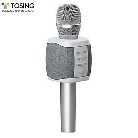 Microphone cầm tay không dây TOSING 027 kết nối Bluetooth tích hợp loa phát 2 trong 1 dùng cho thu hát nhạc