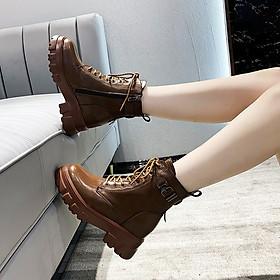 Giày Boot Đế Cao Cool Ngầu 8cm PBOD479