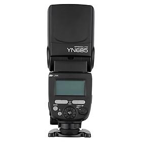 Đèn Flash Không Dây Hỗ Trợ Chụp Ảnh YONGNUO YN685 E-TTL Cho Máy Ảnh Canon/DSLR Tương Thích Thiết Bị Điều Khiển YONGNUO 622C/603 (1/8000s-2.4G)