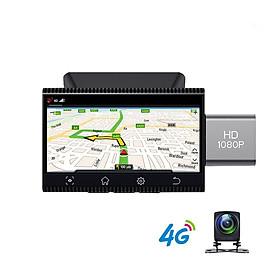 Camera hành trình xe ô tô nhãn hiệu Phisung K11 có tích hợp camera lùi AHD - Hàng nhập khẩu