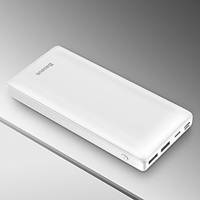 Pin Sạc Dự Phòng Laptop Baseus Mini JA 3A 30,000mAh Tích Hợp Cổng USB Type-C Hỗ Trợ Sạc Nhanh 15W PD Power Delivery Cho Macbook - Hàng Chính Hãng