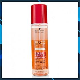 Xịt dưỡng tóc Schwarzkopf BC Bonacure Peptide Repair Rescue Spray mềm mượt cho tóc khô hư tổn Đức 200ml