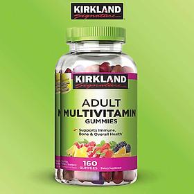 Kẹo dẻo bổ sung vitamin và khoáng chất Kirkland Signature Adult Multivitamin Gummies 160 Viên - Nhập khẩu Mỹ