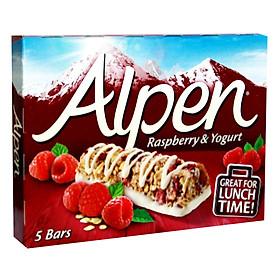 Ngũ Cốc Ăn Sáng Thanh Dâu Rừng & Yogurt Alpen (5 Thanh x 29g)