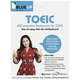 600 Essential Flashcards For Toeic Blue Up
