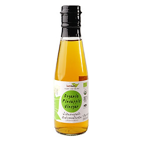 Giấm thơm hữu cơ 180ml LumLum Organic Pineapple Vinegar
