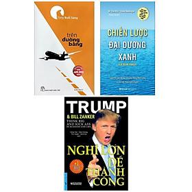 Combo 3 Cuốn Tư Duy Trong Kinh Doanh: Chiến Lược Đại Dương Xanh + Trên Đường Băng + Nghĩ Lớn Để Thành Công (Tuyệt Chiêu Làm Việc Đạt Năng Suất Tối Ưu / Top Sách Kinh Tế Hay)