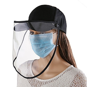 Anti-fog Dust-proof Sunshade Protective Cover Removable Fisherman Hat Cap
