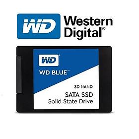 Ổ Cứng SSD WD Blue 3D NAND WDS500G2B0A 500GB Sata III 2.5 inch - Hàng Nhập Khẩu
