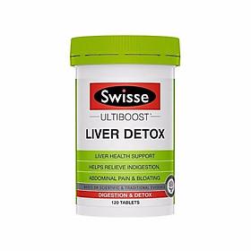 Viên Uống Hỗ Trợ Thải Độc Gan Swisse Liver Detox Úc 120 viên