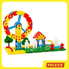 Bộ Đồ Chơi Lắp Ghép Công Viên Giải Trí Luna Park 1 (118 Chi Tiết) - Đồ Chơi Giáo Dục Châu Âu, An Toàn, Siêu Bền Cho Bé - Polesie Toys 51585