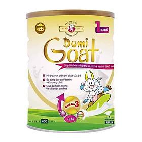 Sữa dê Dumi Goat 1 cho trẻ từ 0 đến 3 tuổi (400g)