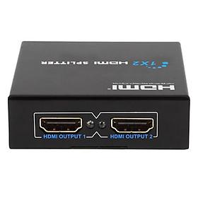 Bộ Chia Tín Hiệu HDMI Vào 1 Ra 2 Tivi Cùng Lúc Chuẩn 4K