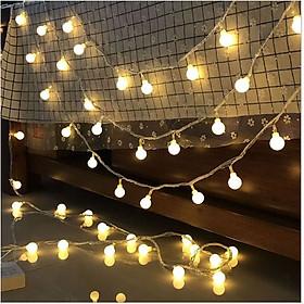 Đèn Led Trang Trí Bóng Tròn Dài 3M - 20 Bóng Trang Trí Noel Lễ Tết
