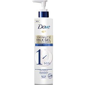 Kem Xả Dove Phục Hồi Hư Tổn 1 Phút Dạng Gel Sữa Dưỡng (150ml)