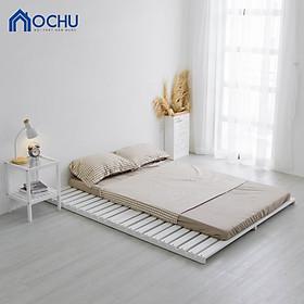 Giường Ngủ Pallet Gỗ Thông OCHU - Nancy Bed - White