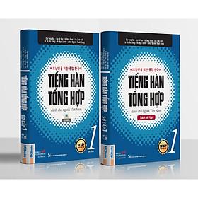 Trọn Bộ Tiếng Hàn Tổng Hợp Dành Cho Người Việt Nam - Sơ Cấp 1(Bản In 4 Màu) Tặng Kèm Portcard Những Câu Nói Hay Của Người Nổi Tiếng
