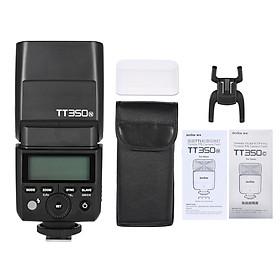 Đèn Flash Tốc Độ Cao Cho Máy Ảnh Nikon Godox TT350N Mini 2.4G