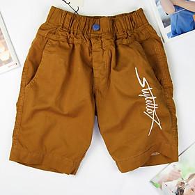 Quần short kaki bé trai từ 16-40 ký, quần lửng cho bé trai cân nặng từ 16-40 ký, quần đũi cho bé trai