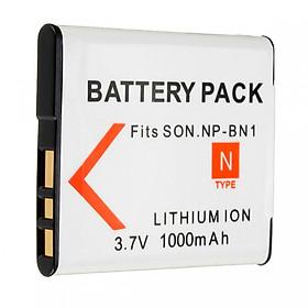 Pin máy ảnh cho Sony NP-BN1 1000mAh