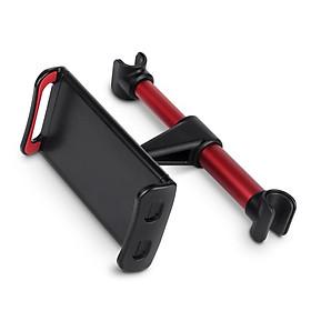 Khung kẹp xoay dọc ngang kẹp điện thoại, ipad treo thanh tựa đầu sau ghế xe hơi, ô tô và điều chỉnh máy theo góc nhìn