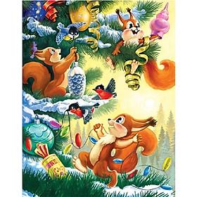 Xếp Hình 63 Mảnh - Đêm Trước Giáng Sinh 63-136