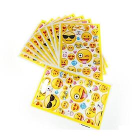 10 túi quà emoji Gift loot bags 17 x 25 cm
