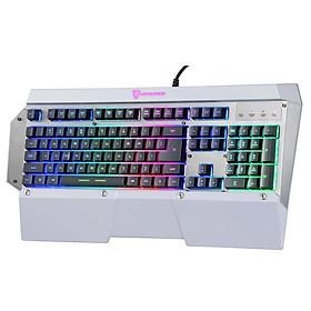 Bàn phím game thủ Motospeed K800L (K808) LED Gaming Keyboard - Hàng nhập khẩu