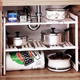 Kệ để chảo xong nồi gầm bếp rất là tiện lợi và đa năng