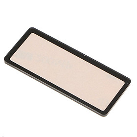 Top Outer LCD Screen Display Cover Window Glass for  5D Mark II 5D2