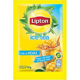 Hộp 16 Gói Trà Lipton Ice Tea Vị Xoài (14g / Gói)