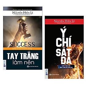 Combo 2 cuốn sách kĩ năng sống: Tay Trắng Làm Nên + Ý Chí Sắt Đá ( Tặng kèm Bookmark Happy Life)