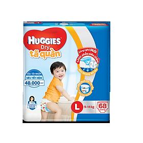 Biểu đồ lịch sử biến động giá bán Tã quần Huggies Dry L68/XL62/XXL56