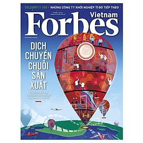 Forbes Việt Nam số 86 - Dịch chuyển chuỗi sản xuất