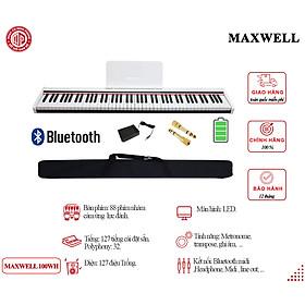 Đàn Piano Điện Maxwell Max 100 - Màu trắng - Hàng chính hãng